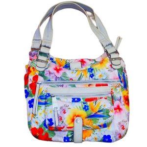 #AI Vintage Bag Tyler Rodan Sycamore Beach Blooms